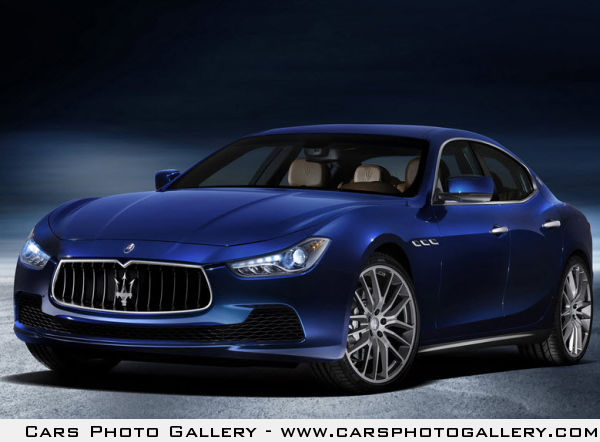 Maserati Ghibli is the first midsize four-door sedan in the brand's history.
