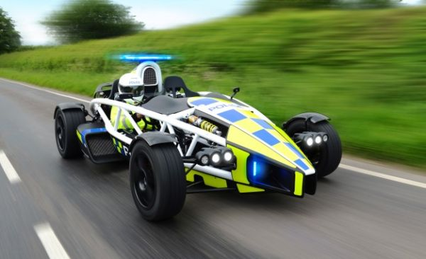 Best. Cop Car. Ever. Ariel Atom Enters Police Service in U.K.