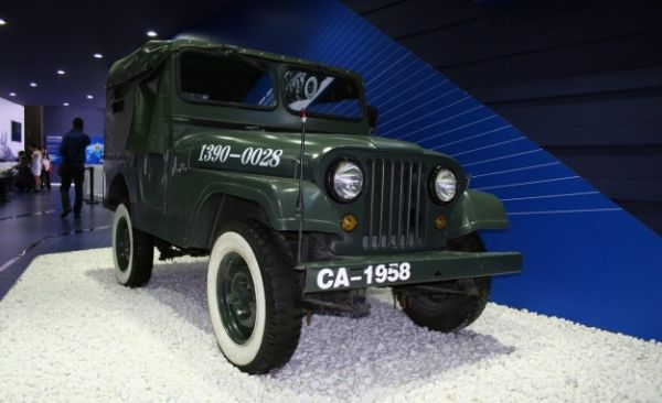 "China's First ""Jeep"" Looked an Awful Lot Like Our WWII Jeep [2014 Beijing Auto Show]"