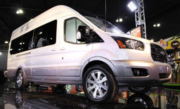 Galpin Turns Ford Transit into Mobile VIP Lounge: Behold the Skyliner Concept