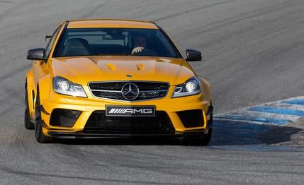 Mercedes-Benz C63 AMG Coupe Black Series 2015