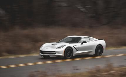 Chevrolet Corvette Stingray Z51 Manual 2015