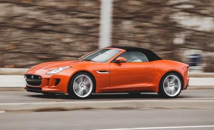 Jaguar F-type V-8 S Roadster 2015