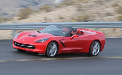Chevrolet Corvette Stingray Convertible  2015