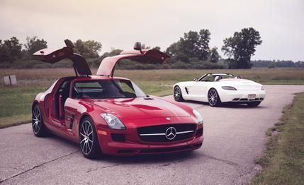 Mercedes-Benz SLS AMG GT Coupe and Roadster  2015