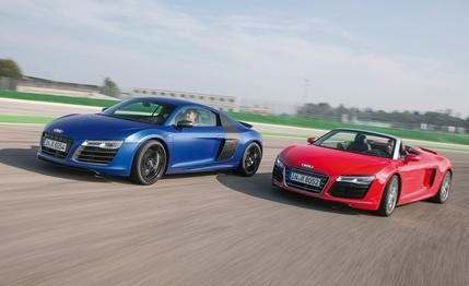 Audi R8 Coupe and Spyder  2015