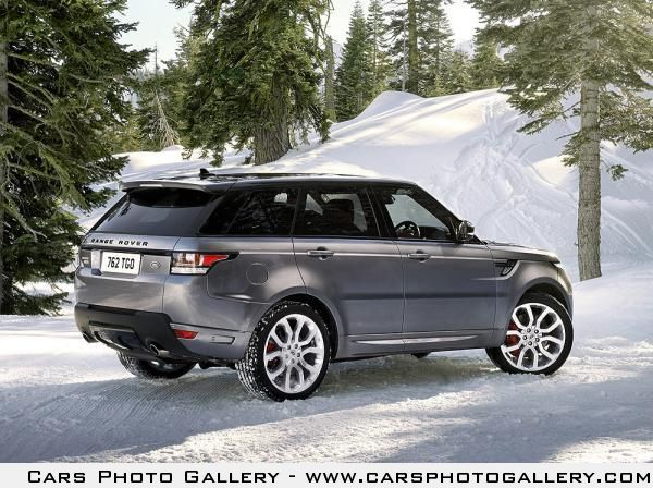 The all-new Range Rover Sport 2014