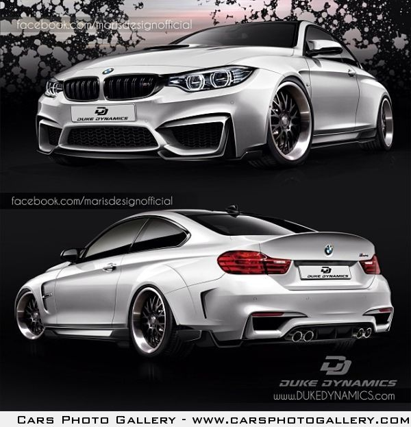 The New BMW M4 Coupe