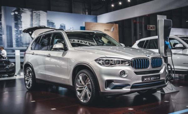 BMW X5 Plug-In Hybrid Concept Updated, Trotted Out Again [2014 New York Auto Show]