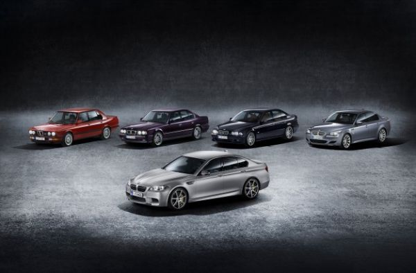 BMW M5 30th Anniversary Model Is the Most Powerful Production Bimmer Ever