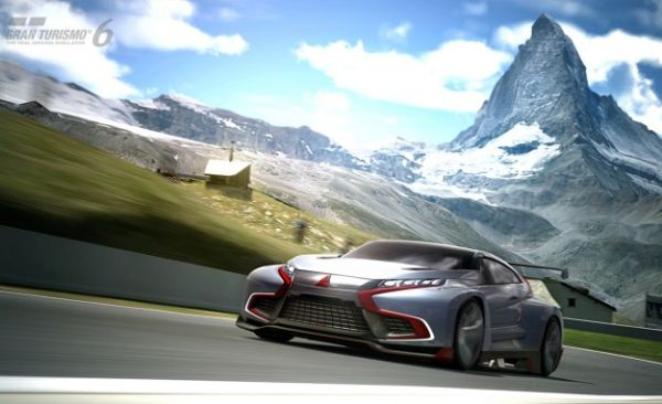 Mitsubishi's Evolution Concept for GT6 Is Mega Bad-Ass