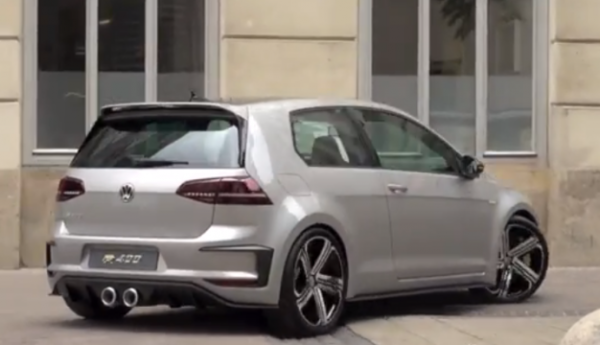 Watch: VW's Golf R 400 Concept Sounds Positively Filthy