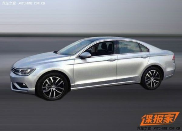Volkswagen New Mid-Size Coupe Concept Comes to Life in Chinese Photo Leak