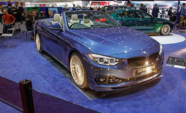 BMW Alpina B4 Biturbo Cabriolet: A Hot 4-series Convertible for Those Who Can't Wait for the M4 [2014 Geneva Auto Show]