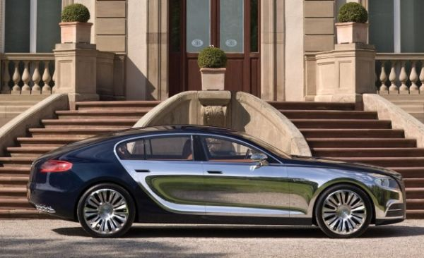 """Bugatti Definitively Kills Galibier Sedan Project, Says It Would """"Confuse"""" Its Customers"""