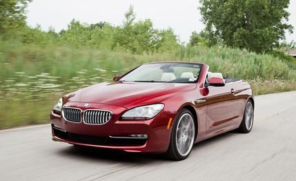 BMW 650i Convertible  2015