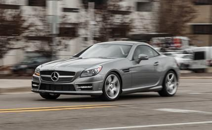 Mercedes-Benz SLK250 Manual 2015