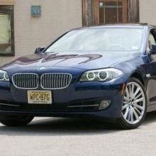 BMW 550i Automatic and Manual 2015